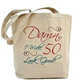 CafePress 50th Birthday Humor Tote Bag - Standard Multi-color by CafePress