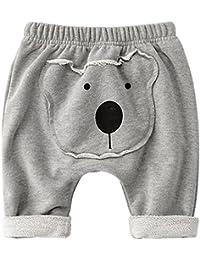 Pantalones Bebé Pantalones De Chándal Unisexo Pantalones Deportivos Algodón Harem Joggers