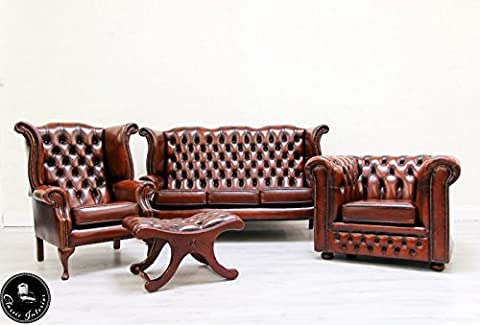 Chesterfield Chippendale Sofa Antik Barock Sessel Ohrensessel