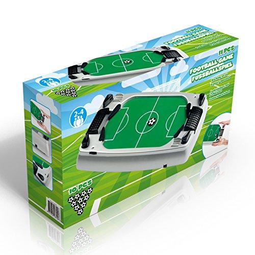 Gioco da Tavolo Footbal Soccer Game - da 2 A 4 Giocatori - con 10 Palline