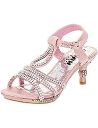 75480217ebb4 Amazon.it  35 - Scarpe col tacco   Scarpe per bambine e ragazze ...