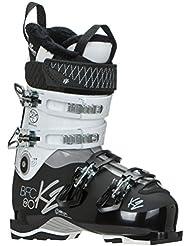 K2 para mujer, botas de esquí para hombre, color - verde, tamaño 30 1/2