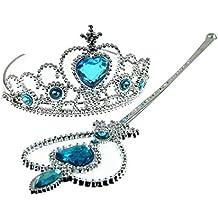 Fun Daisy Bambine Principessa Copricapo, Crown e Bacchetta Magica - Crown e Set Bacchetta, 3 years