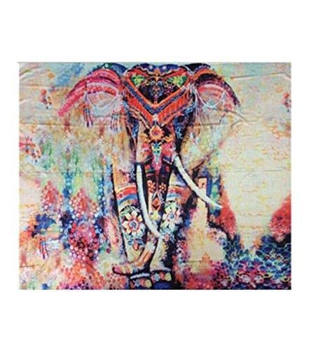 Zoom IMG-1 lvrao indiano psichedelico elefante arazzo