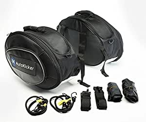 Autokicker Side Kick Saddle Bags Panniers luggage For Motorcycles & Motorbikes