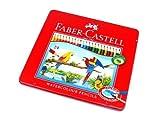 RCECHO® Faber Castell Aquarellstifte Wasserlösliche Tin Box 24 115925 PB626 mit RCECHO® Vollversion Apps Ausgabe