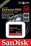 SanDisk Extreme Pro 32 GB 160 MB/s Compact Flash Memory Card - Black/Gold/Red Bild 3
