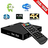 Android TV Box - W95 Newest Android 7.1 2G DDR3 Ram 16G eMMC