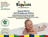 Playshoes 770210 Molton Betteinlage Kinderbett wasserdicht und atmungsaktiv, Oeko-Tex Standard 100, 40 x 50 cm