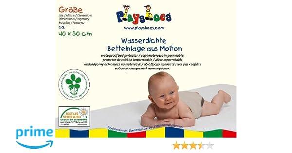 Playshoes Molton Betteinlage Kinderbett wasserdicht und