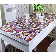 Nappe plastique transparente avec motifs - Nappe plastique transparente pour table ...