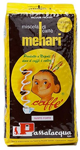 CAFFÈ PASSALACQUA MEHARI - ESPRESSO BAR - PACCO 1Kg IN GRANI