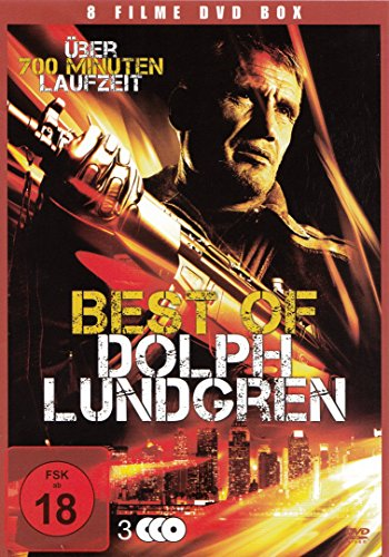 Dolph Lundgren - 8 Filme : Icarus - Pentathlon - The Shooter - Red Zone ua - 3DVD Box