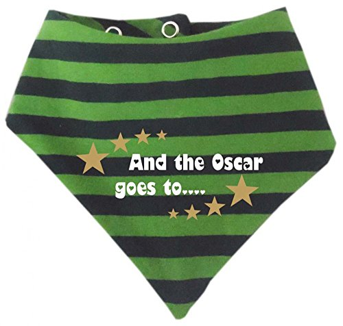 Baby – Les enfants bandana rayures – and the Oscar Goes to/dans 9 designs/tailles 0–36 mois - Vert - 98 cm