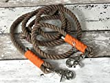 Tau Leine Braun, Orange