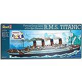 Revell 5697 Liner RMS Titanic w/ Colour & Glue 1:570 Ship Model Kit