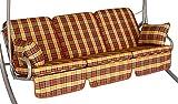 Angerer 785/088 Comfort-Schaukelauflage, 3-Sitzer Design London