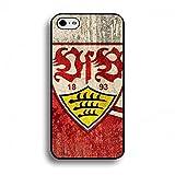 Bundesliga VfB Stuttgart Tasche Hülle,Apple iPhone 6(S) VfB Stuttgart Handyhülle,Das Logo von Stuttgart 1893 Protector Silikonhülle Hülle,