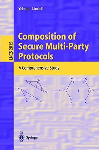 Composition of Secure Multi-Party Protocols: A Comprehensive Study (Lecture Notes in Computer Science) por Yehuda Lindell