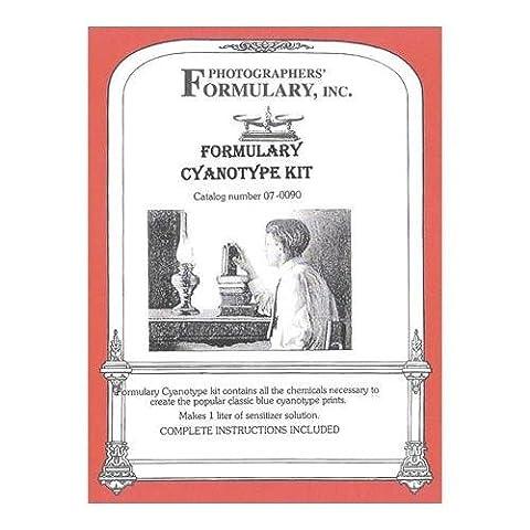 Photographer's Formulary New Cyanotype Printing Kit, Makes 50 8 x 10 Prints by Photographers' (Cyanotype Kit)