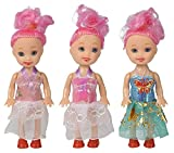 #8: Smartcraft Glamour Star Doll (Pack of 3) , Pack of 3 Cute & Adorable Doll Set, Fashion forward Doll Set for girls