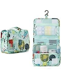 Bolsas de Aseo Cosméticos Neceser de Viaje Impermeable y Plegable P.travel Maquillaje Organizador de