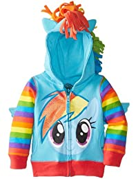 My Little Pony Rainbow Dash Blau Mädchens Kostüm Hoodie Sweatshirt