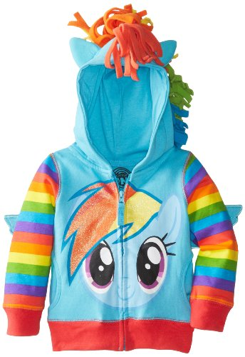 Rainbow Dash Pony Kostüm - My Little Pony Rainbow Dash Blau