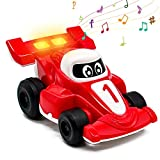 Akokie Coche de Juguete con Música Brillar Vehículos Juguetes de...