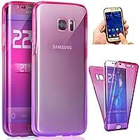 d442425a02e Funda Samsung Galaxy S6 Edge Plus,SainCat TPU Funda Anti-Rasguño Anti-Golpes