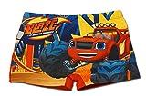 Blaze und die Monster-Maschinen - Badeshorts Badehose für Jungen - QE1948 [Rosso - 8 anni - 128 cm]