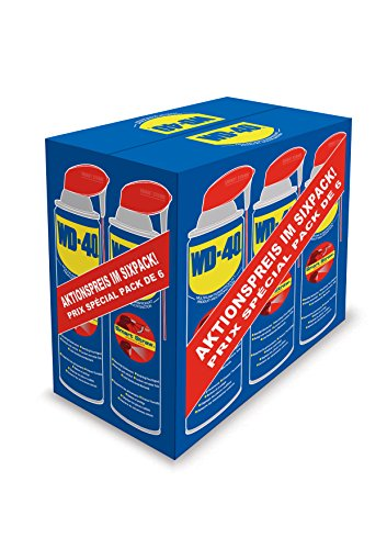WD-40, 49937, Multifunktionsprodukt Smart Straw, 6er Pack (6 x 500 ml)