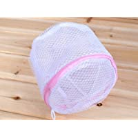 Zipped Convenient Bra Socks Clothes Underwear Laundry Washing Bag Net Mesh