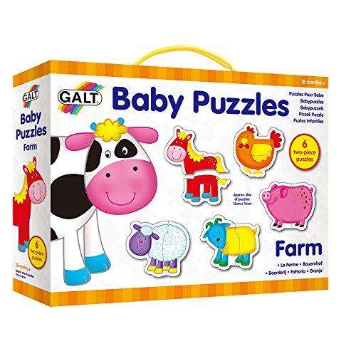 Galt Toys Puzle Infantile-Granja, (1003028)