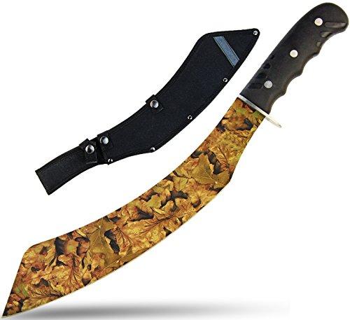Unbekannt Machete Jagd-Messer Busch-Messer Jungle-Messer Schwere-Machete Original Parang Survival Camouflage 48cm