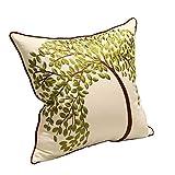 Kissen, chinesische bestickte Kissen, Büro Sofa Kissen, Bett Kissen, Auto Kissen Kissenbezug, Stuhl Rückenlehne Kissen ( Farbe : A )
