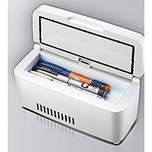L&Z Refrigerador De Insulina Portátil Caja Recargable Mini Pequeño Refrigerador Vehículo Inteligente Incubadora De Refrigeración De