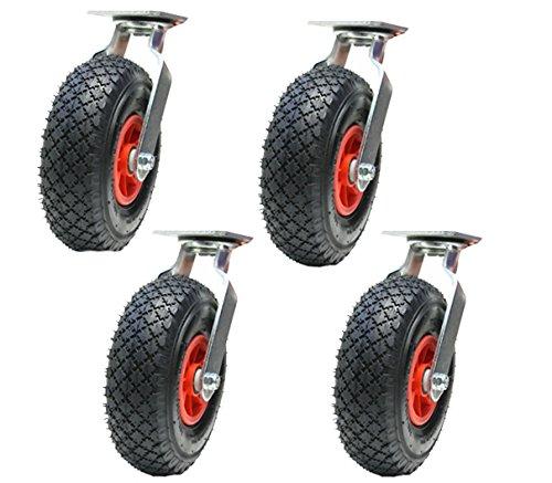 Ruote girevoli a rotelle pneumatiche da 4 a 10 pollici 260mm (300x4)