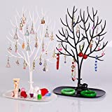#4: SSVE Tray Bracelet Storage Tree Shelf Necklace Earring Deer Jewelry Stand Display Organizer Holder Show Rack New Year Creative Gifts (Assorted Color)