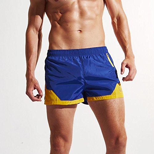 Herren Männer Jungen Kurze Hose Surfshorts Stammbadebekleidung Badeshorts Badehose Beachshorts Boardshorts Blau