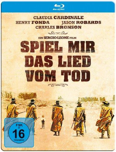 Spiel mir das Lied vom Tod (Limited Steelbook, inklusive Poster) [Blu-ray] -