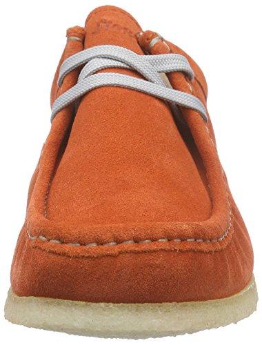 SiouxGrashopper-D-141 - Mocassini Donna Arancione (Orange (papaya))