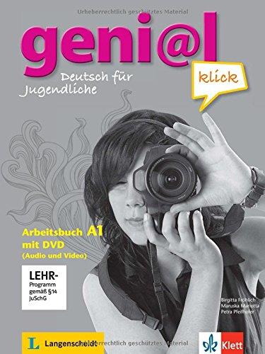 Preisvergleich Produktbild geni@l klick A1: Deutsch für Jugendliche. Arbeitsbuch mit DVD-ROM (Audio und Video)