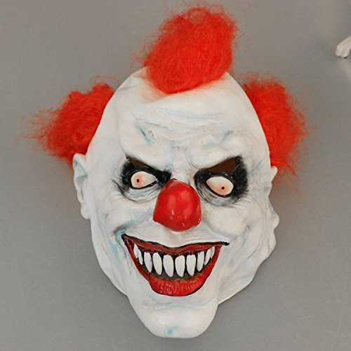 Clown Masken Hoods Spoofs Von Halloween Cos Looting Aufführungen Horror (Köpfe Clown Scary)