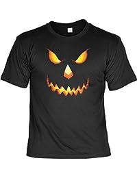 Happy Halloween Kostüm Grusel Trick or Treat auch in 3xL 4xL 5xL Kürbiskopf Fb schwarz