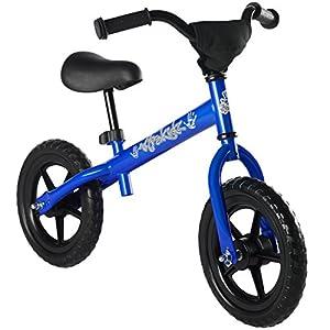 Ultrakidz - Bicicleta sin Pedales para niños a Partir de 85 cm de Estatura, Color Azul