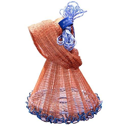 Fischernetz Runde Disc Hand Sprinkle Net Bag Amerikanischen Automatische Einfach Zu Werfen Net Swivel Net Outdoor Teich Dekoration Deko Fischernetz, Angeln Netze Spiel