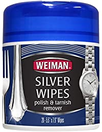 Weiman Silver Wipes 48, 1 Pack, Plateado, 1