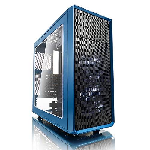 7fd192766cc Fractal Design Focus G 2 x Ventiladores Silenciosos USB3 Ventana Panel ATX  PC Case – Azul