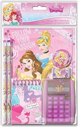 Frajodis-0006378-Set papelería con calculadora-Princesas